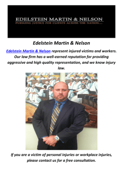 Edelstein Martin & Nelson : Car Accident Attorney in Philadelphia, PA