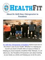Dr. Kelli Han Chiropractor in Pasadena, CA