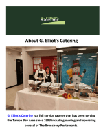 G. Elliot's Corporate Catering in Tampa, FL