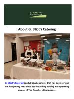G. Elliot's Corporate Catering in Tampa, FL
