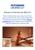 Peterson Law Office LLC | Estate Planning Lawyer