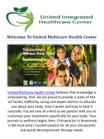 United Multicare Health Center - Chiropractor Rosemead, CA