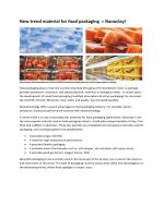 nanoclay-food packaging
