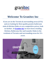 Granitec Inc | Steel Kitchen Sinks in Toronto