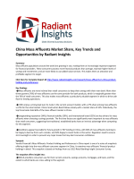 China Mass Affluents Market  Size, Analysis, Key Trends and Opportunities by Radiant Insights