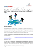 Baby Bath Products Market Growth, Price, Demand and Forecast To 2020