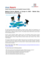 Medical Device Markets in Europe to 2020 - Market Size, Development, and Forecasts