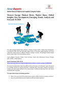 Western Europe Medical Device Market Share, Growth and Forecasts To 2020: Hexa Reports