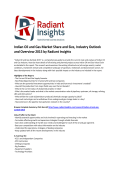Indian Oil and Gas Market Share and Trends, Analysis, Industry Outlook and Overview 2015