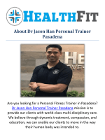 Dr Jason Han Personal fitness Trainer in Pasadena, CA