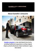 Danielle's Limousine : Corporate Limo Service Concord, NH