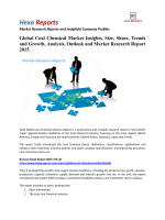 Global Coal Chemical Market Size, Company Share, Capacity Forecasts 2015: Hexa Reports
