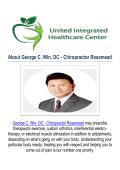 George C. Win, DC - Rosemead Chiropractor, CA