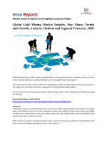 Global Gold Mining Market Size, Emerging Trends and Analysis 2020: Hexa Reports