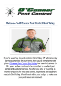 O'Connor Pest Control Company Simi Valley CA