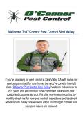 O'Connor Pest Control Company Simi Valley CA