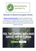Professional Maid Service in Jupiter, FL