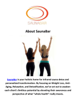SaunaBar Weight Loss Program in Los Angeles, CA