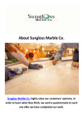 Sungloss Marble Co - Stone Floor Repair in Chicago, IL