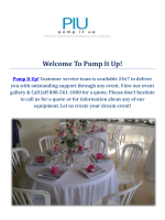 Pump It Up! Party Rentals Events in Honolulu