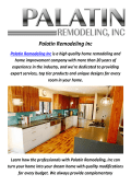 Home Remodeling Contractor in Los Angeles by Palatin Remodeling Inc