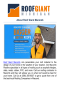 Roof Giant Macomb | Roofing Companies in Macomb, MI