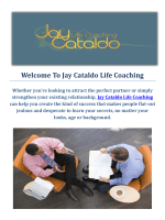 Life Coach in New York City : Jay Cataldo Life Coaching