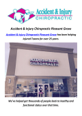 Accident & Injury Chiropractic Pleasant Grove | Chiropractor Car Accident