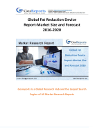 Global Fat Reduction Device Report-Market Size and Forecast 2016-2020