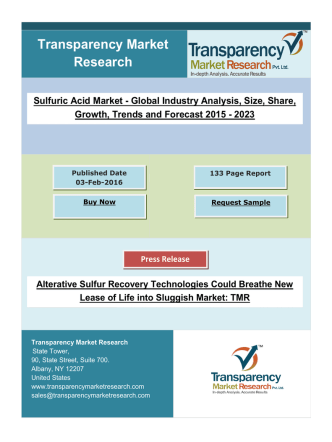 Alterative Sulfur Recovery Technologies Could Breathe New Lease of Life into Sluggish Market.pdf