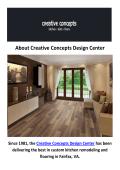 Creative Concepts Design Center : Flooring in Fairfax, VA