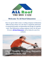 All Roof Edmonton : Trusted Roofers in Edmonton