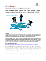 India Thermal Power Market Share, Growth and Overview To 2030: Hexa Reports