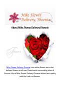 Mike Same Day Flower Delivery Phoenix, AZ