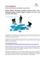 Global Digital Marketing Spending Market Share, Analysis and Overview 2016-2020: Hexa Reports