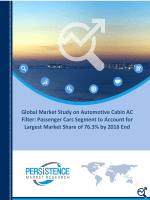Automotive Cabin AC Filter Market Global Analysis