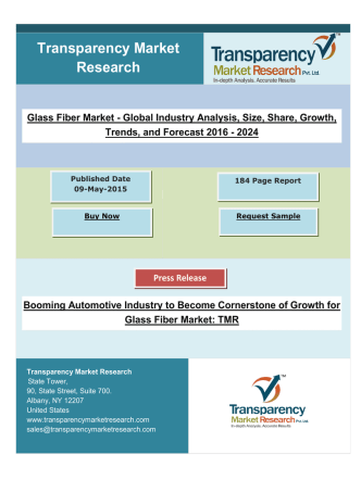 Booming Automotive Industry to Become Cornerstone of Growth for Glass Fiber Market.pdf