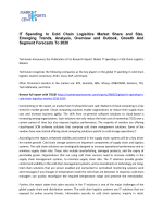 IT Spending In Cold Chain Logisitics Market Size, Demand, Price and Analysis To 2020