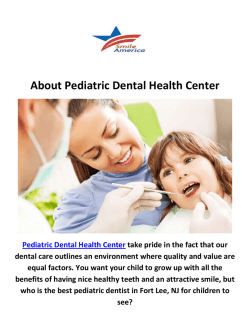 Pediatric Dental Health Center - Child Dentist in Fort Lee, NJ