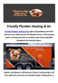 Friendly Plumber Heating & Air : HVAC Contractors in Salt Lake City