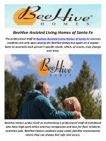 BeeHive Assisted Living Homes in Santa Fe, NM