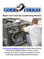 Cool Touch Air Conditioning Repair in Phoenix, AZ