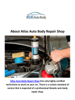 Atlas Auto Repair Shop in Reseda, CA