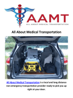 All About Medical Transportation in Georgia