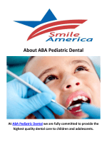 ABA Pediatric Dentist in Bayonne, NJ