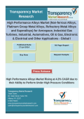 High Performance Alloys Market  - Global Industry Analysis  2014 - 2020