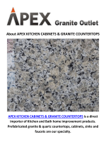 Apex Kitchen Granite Countertops in Los Angeles, CA