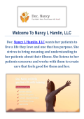 Medication Management in Everett WA : Nancy L Hamlin, LLC