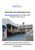 Atlas Auto Repair Shop in Granada Hills, CA