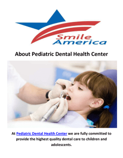 Pediatric Dental Health Associates in NJ